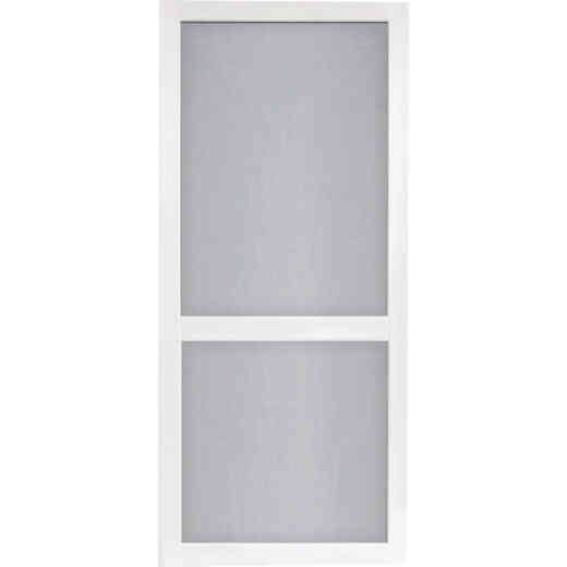 Screen Tight Vinylcraft 32 In. W x 80 In. H x 1 In. Thick White Vinyl Screen Door