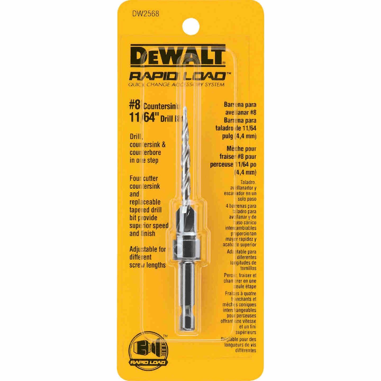 DeWalt #8 - 11/64 In. Fine Rapid Load Wood Countersink Image 1