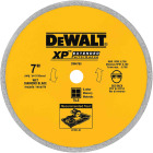 DeWalt Extended Performance 7 In. Continuous Rim Dry/Wet Cut Tile Diamond Blade Image 1