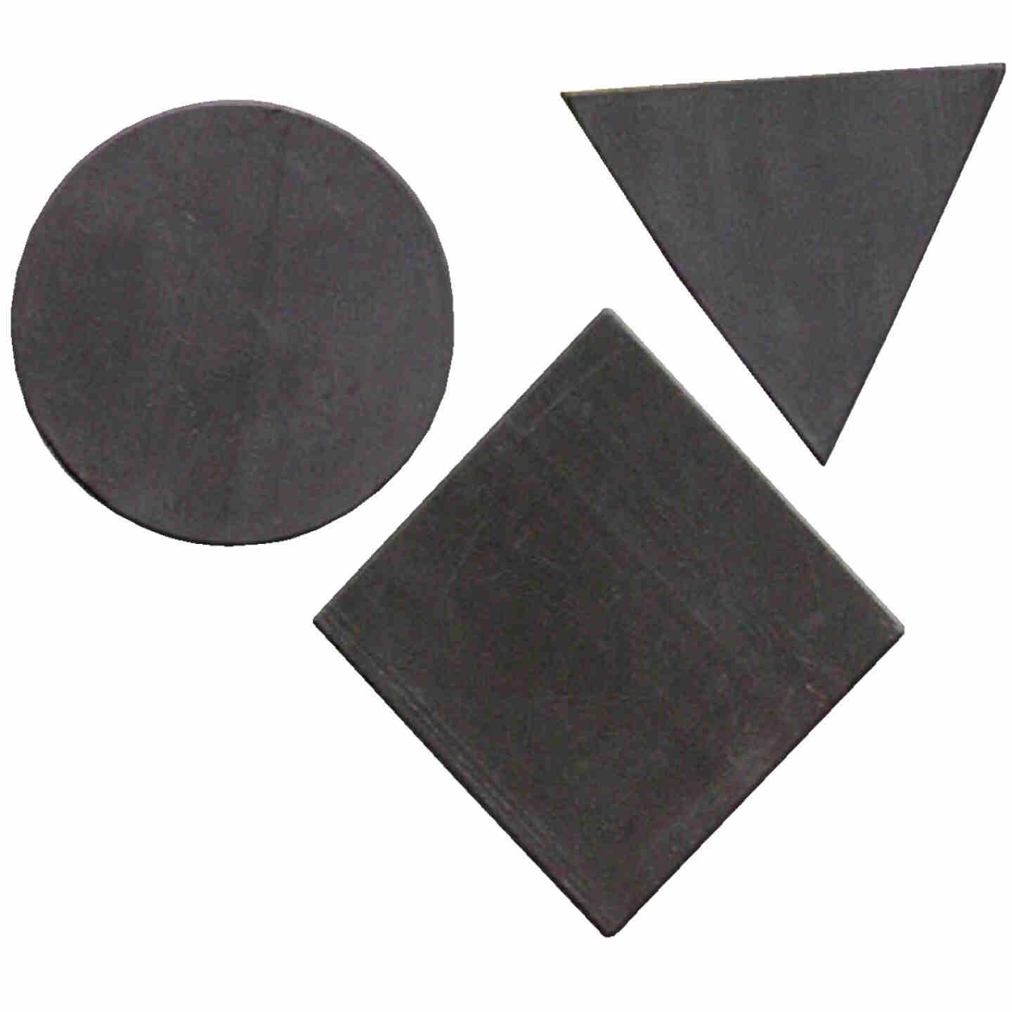 Master Magnetics Black Assorted Magnetic Shapes (30-Pack) Image 1