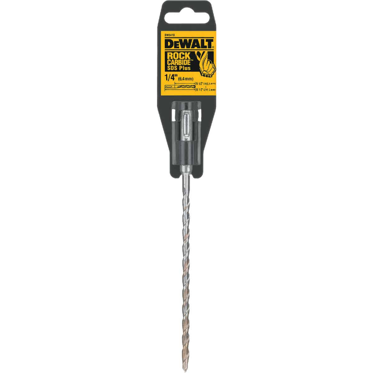 DeWalt SDS-Plus 1/4 In. x 8-1/2 In. 2-Cutter Rotary Hammer Drill Bit Image 1