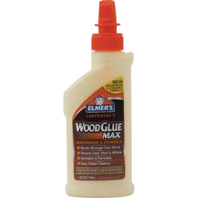 Elmer's Carpenter's 4 Oz. Wood Glue Max