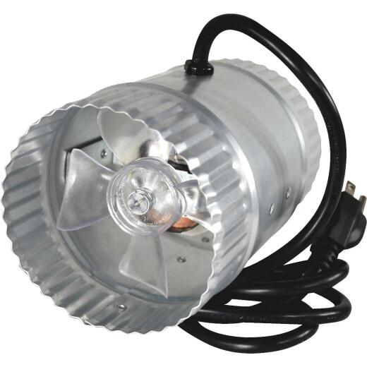 Suncourt 65 to 80 CFM 4 In. In-Line Duct Air Booster Fan
