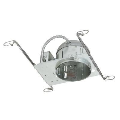 Thomas 6 In. New Construction Non-IC Rated Recessed Light Fixture