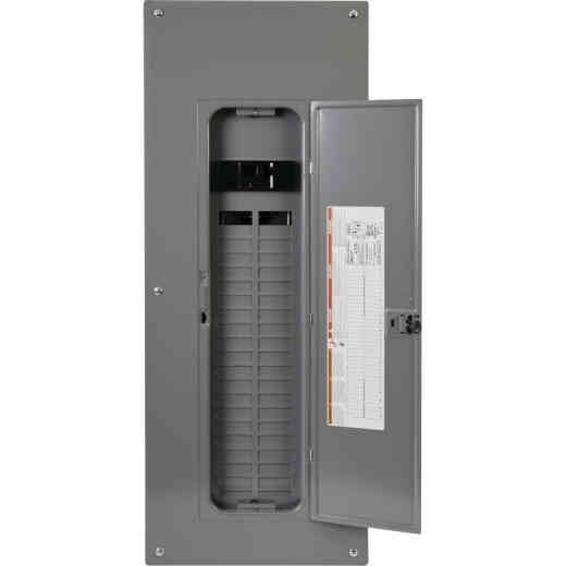 Square D Homeline 200A 40-Space 80-Pole Indoor Meter Breaker Panel