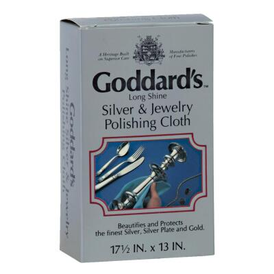 Goddard's Long Shine Silver & Jewelry Polishing Cloth