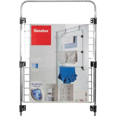 Metaltex Gale 22.5 In. x 36.75 In. x 12.25 In. Over-The-Door Clothes Drying Rack