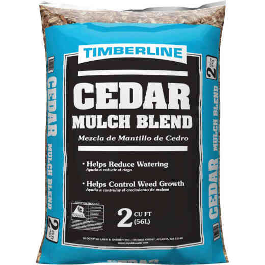 Timberline 2 Cu. Ft. Cedar Mulch