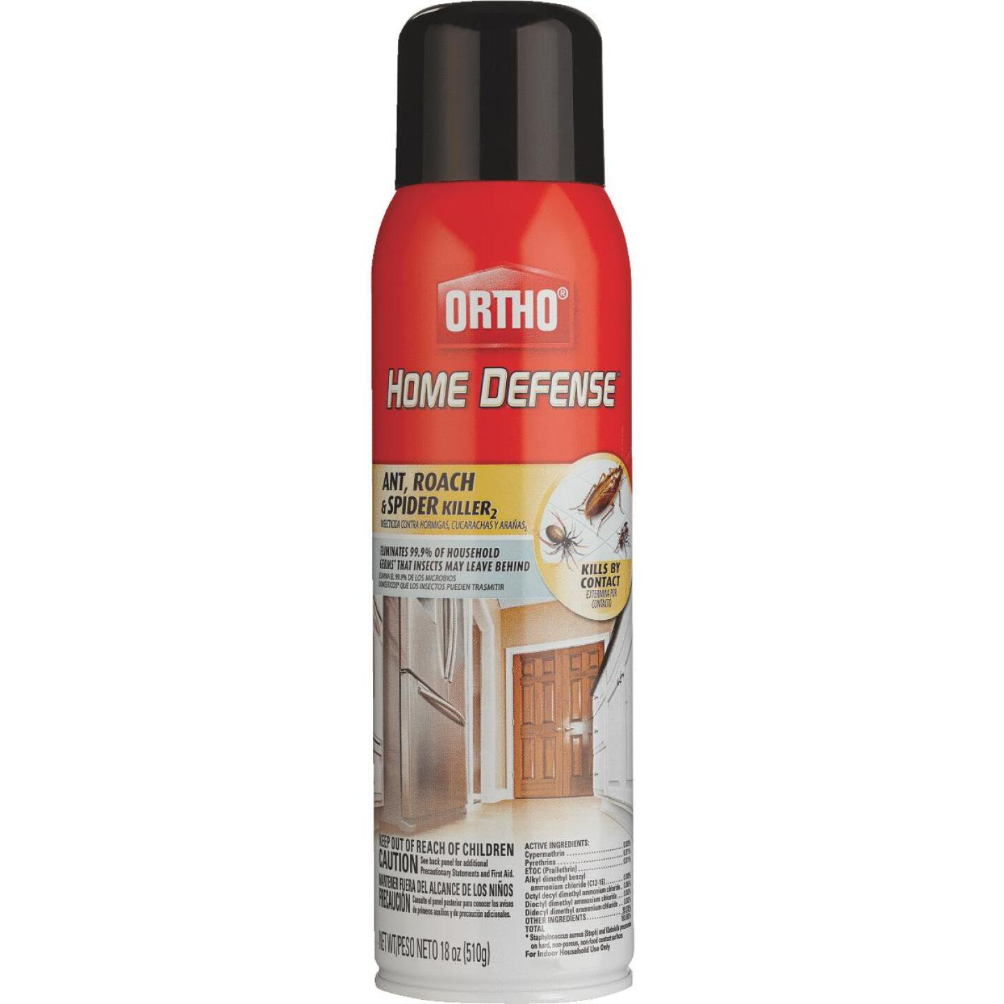 Ortho Home Defense 18 Oz. Aerosol Spray Ant & Roach Killer Image 1