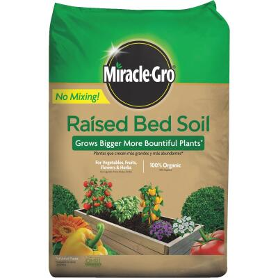 Miracle-Gro 1.5 Cu. Ft. Raised Bed Garden Soil