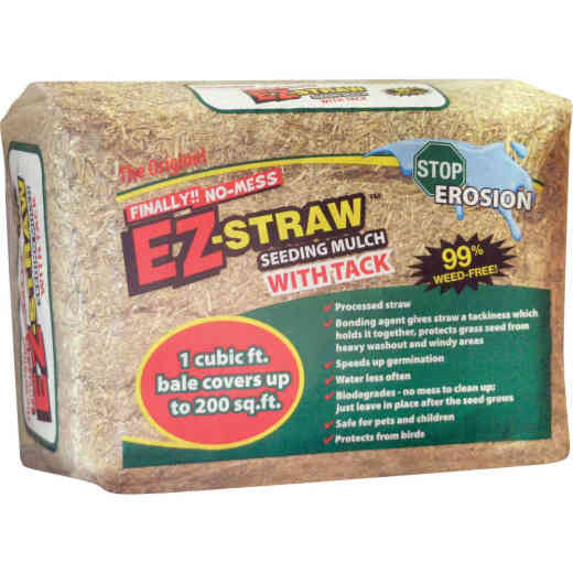 EZ Straw 1 Cu. Ft. Straw Seeding Mulch