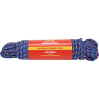 Do it 3/8 In. x 100 Ft. Assorted Colors Double Braided Polypropylene Packaged Rope Image 1