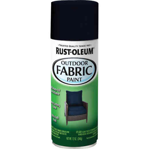 Rust-Oleum 12 Oz. Flat/Matte Outdoor Fabric Spray Paint, Navy