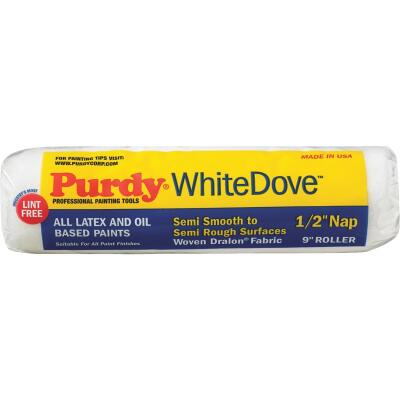 Purdy White Dove 9 In. x 1/2 In. Woven Fabric Roller Cover