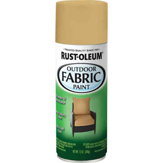 Rust-Oleum 12 Oz. Flat/Matte Outdoor Fabric Spray Paint, Khaki
