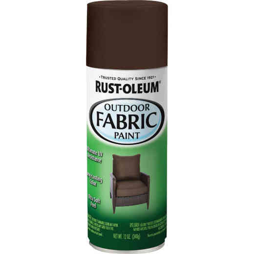 Rust-Oleum 12 Oz. Flat/Matte Outdoor Fabric Spray Paint, London Gray