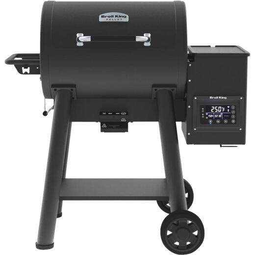 Broil King Baron Pellet 400 Black 635 Sq. In. Grill